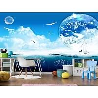 DL 7232 Gökyüzü Görünümlü Duvar Posteri