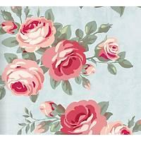 Floral Collection 5075 Gül Desenli Duvar Kaðýdý