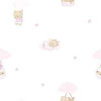Milky Baby 400-3 Kýz Bebek Odasý Duvar Kaðýdý