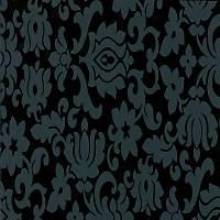 Gekkofix 10109 Siyah Çiçek Desen Yapýþkanlý Folyo