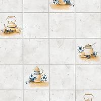 Alkor 280-2620 Çaydanlık Desen Yapışkanlı Folyo