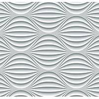 3D Art 7097 3D Elips Desenli Duvar Kağıdı