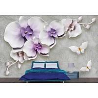 DL 7169 Çiçek Görünümlü Duvar Posteri