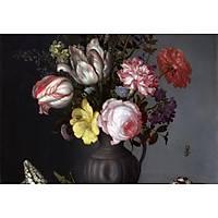 DL 4303 Çiçek Desenli Duvar Posteri