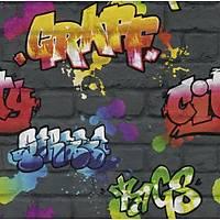Kids & Teens II 237801 Graffiti Genç Odasý Duvar Kaðýdý