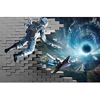 DL 7228 Astronot Model Duvar Posteri