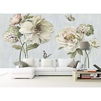DL 7017 Çiçek Görünümlü Non Woven Poster