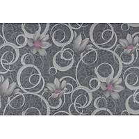 Adoro 7510-6 Yerli Çiçek Desenli Duvar Kağıdı