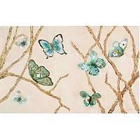 DL 7063 Kelebek Desenli Duvar Posteri