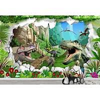 DL 7093 Dinazor Görünümlü Çocuk Odasý Duvar Posteri