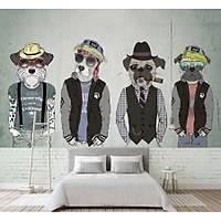 DL 4002 Sevimli Köpekler Pop Art Duvar Posteri