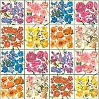 Tiles & More XIV 303407 Çiçek Görünümlü Duvar Kaðýdý