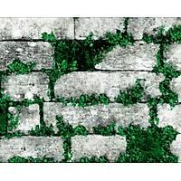 Elemental 42005-1 Çimenli Taş Desen Duvar Kağıdı