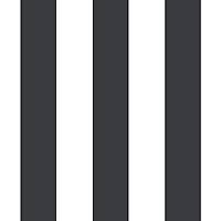 New Age 7950 Siyah Beyaz Çizgili Duvar Kaðýdý