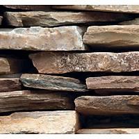 Stone And Wood 6015 Taş Desenli Duvar Kağıdı