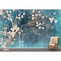 DL 7015 Ağaç Görünümlü Duvar Posteri