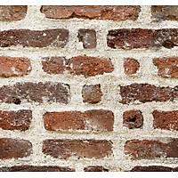 Stone And Wood 6042 Eskitme Tuğla Desen Duvar Kağıdı