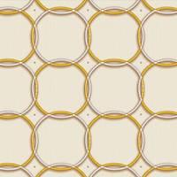 Nirvana 42132-2 Geometrik Desenli Duvar Kaðýdý