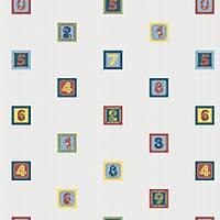 Kids Collection 15126-1 Renkli Sayýlar Çocuk Odasý Duvar Kaðýdý