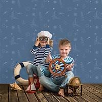 Kids Collection 15164-2 Erkek Bebek Odasý Duvar Kaðýdý