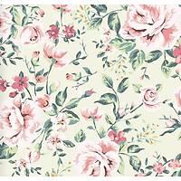 Floral Collection 5067 Çiçek Desenli Duvar Kaðýdý