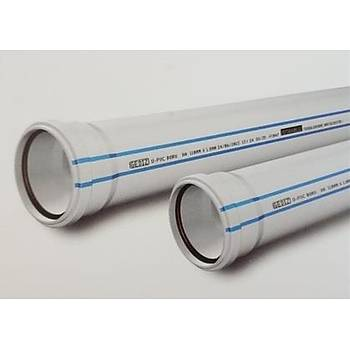 Plastherm Pvc Boru 125x3000 mm