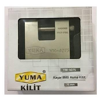 Yuma Ym4075 Kayar Milli Asma Kilit 75 mm