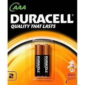 Duracell Kartela AAA Ýnce Pil 2'li
