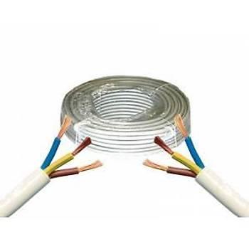 Ttr 3x2,5 Alüminyum Kablo 100 Metre