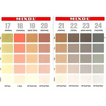 Mixol Renk Tüpü Rengi No 22