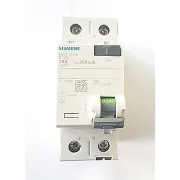 Siemens Kaçak Akým Rolesi Monofaze 40 Amper 300 Miliamper