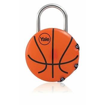 Yale Þifreli Asma Kilit Basketbol Topu