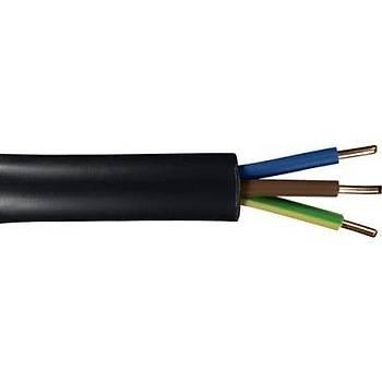 Öznur Bakýr 3x1,5 Ttr Kablo Siyah 100 Metre