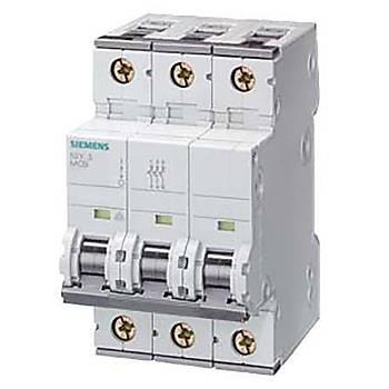 Siemens C Tipi Otomat Sigorta 40 Amper Üç Fazlý