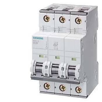 Siemens C Tipi Otomat Sigorta 16 Amper Üç Fazlý