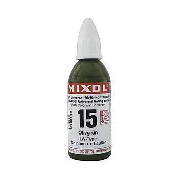 Mixol Renk Tüpü Zeytin Yeþili No 15