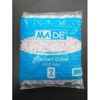 Made Plastik Dübel 7 mm 1000 Adet
