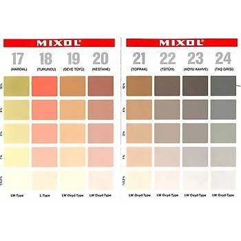 Mixol Renk Tüpü Ç. Yeþili No 12