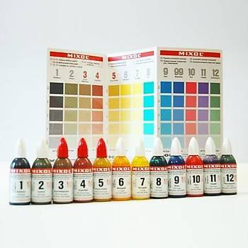 Mixol Renk Tüpü Koyu Kahverengi No 23