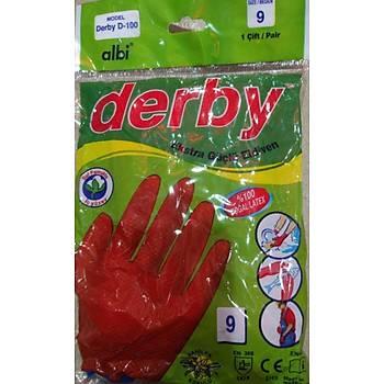 Derby Lastik Eldiven No 9