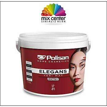 Polisan Elegans Extra Yarý Mat Beyaz 7,5 lt