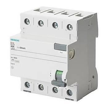 Siemens Kaçak Akým Rolesi Trifaze 40 Amper 300 Miliamper,