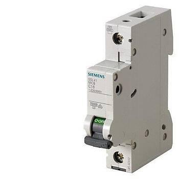 Siemens C Tipi Otomat Sigorta 2 Amper Tek Fazlý
