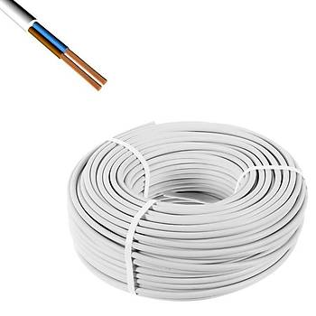 Ttr 2x1,5 Alüminyum Kablo 100 Metre