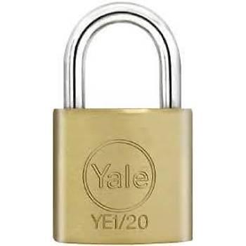 Yale Essential Sarý Asma Kilit 50 mm
