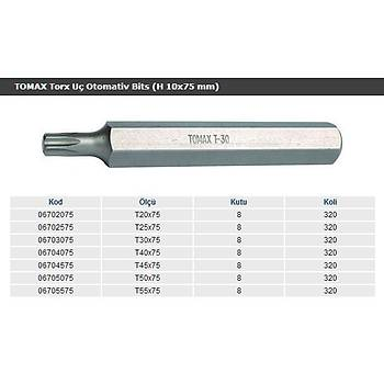 Tomax Bits Tork Uç T30x75 mm