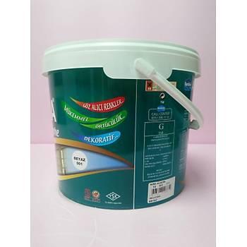 Kardelen Aura Plastik Beyaz 10 kg Ýç Cephe