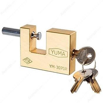 Yuma Ym3070 Kayar Milli Prinç Asma Kilit 70 mm