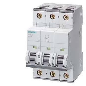 Siemens C Tipi Otomat Sigorta 63 Amper Üç Fazlý
