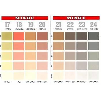 Mixol Renk Tüpü Siyah No 1